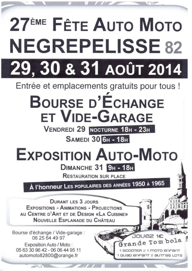 27eme fête de l'auto et de la moto à Nègrepelisse (82)
